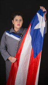 Viviana Torres Mestey como Lolita Lebrón.