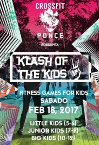 Afiche del evento Klash of the Kids.