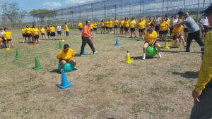 Un total de 60 confinadas participaron de la jornada. (Suministrada)