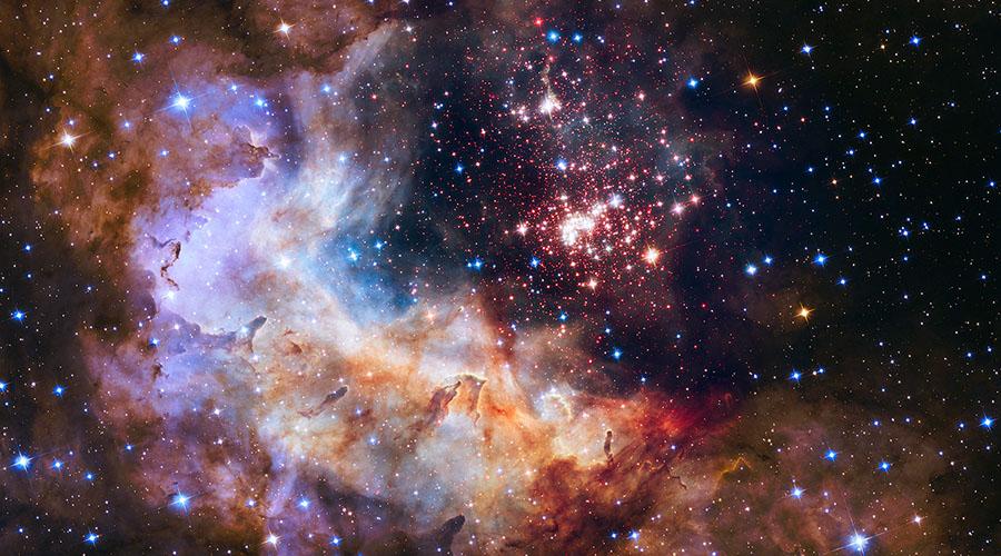 Cúmulo de estrellas Westerlund 2. (Flickr / NASA Goddard Space Flight Center)