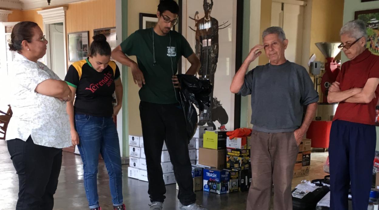 El pasado viernes llegó a la isla el cargamento de ayuda del grupo de la diáspora boricua Texas United for Puerto Rico y otros aliados de Casa Pueblo en Estados Unidos.