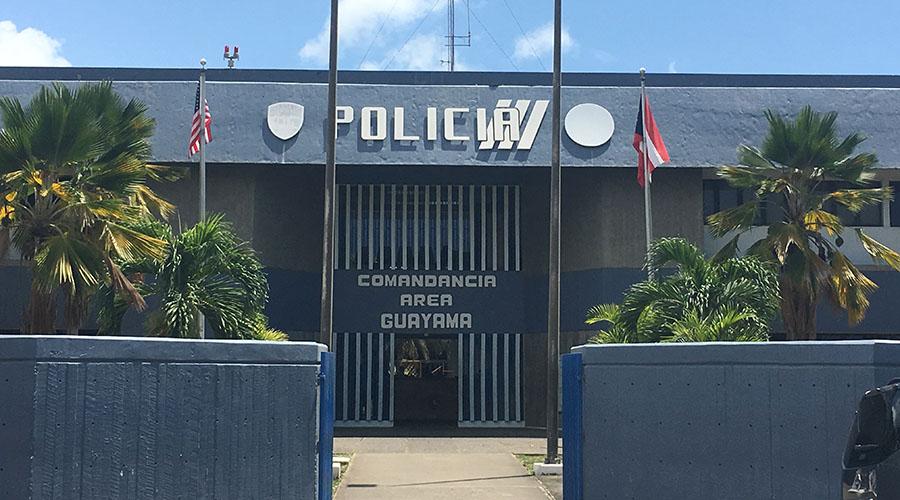 Comandancia de la Policía de Guayama. (Voces del Sur)
