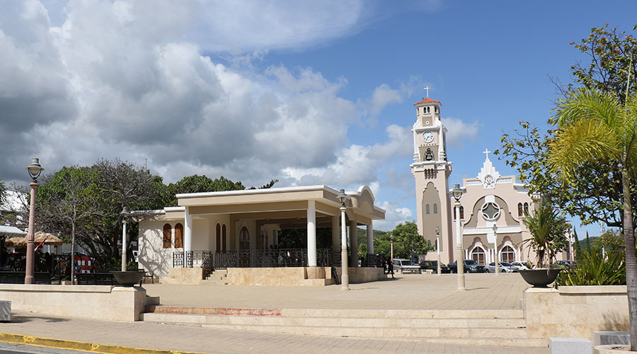 Plaza Fernando Pacheco y Matos de Yauco. (Voces del Sur)