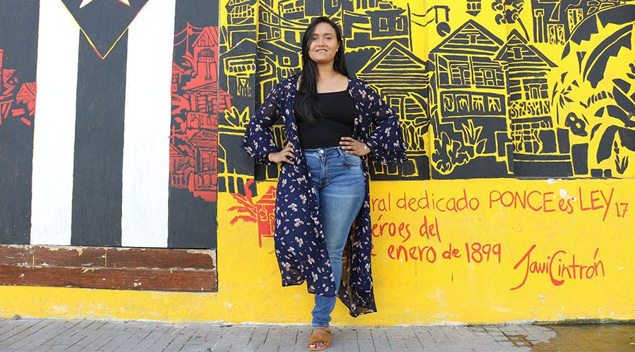 Belén Marie Velázquez Torres presentará el espectáculo La voz de la libertad, un tributo a Mercedes Sosa, en Proscenium el 9 de febrero. (Voces del Sur)