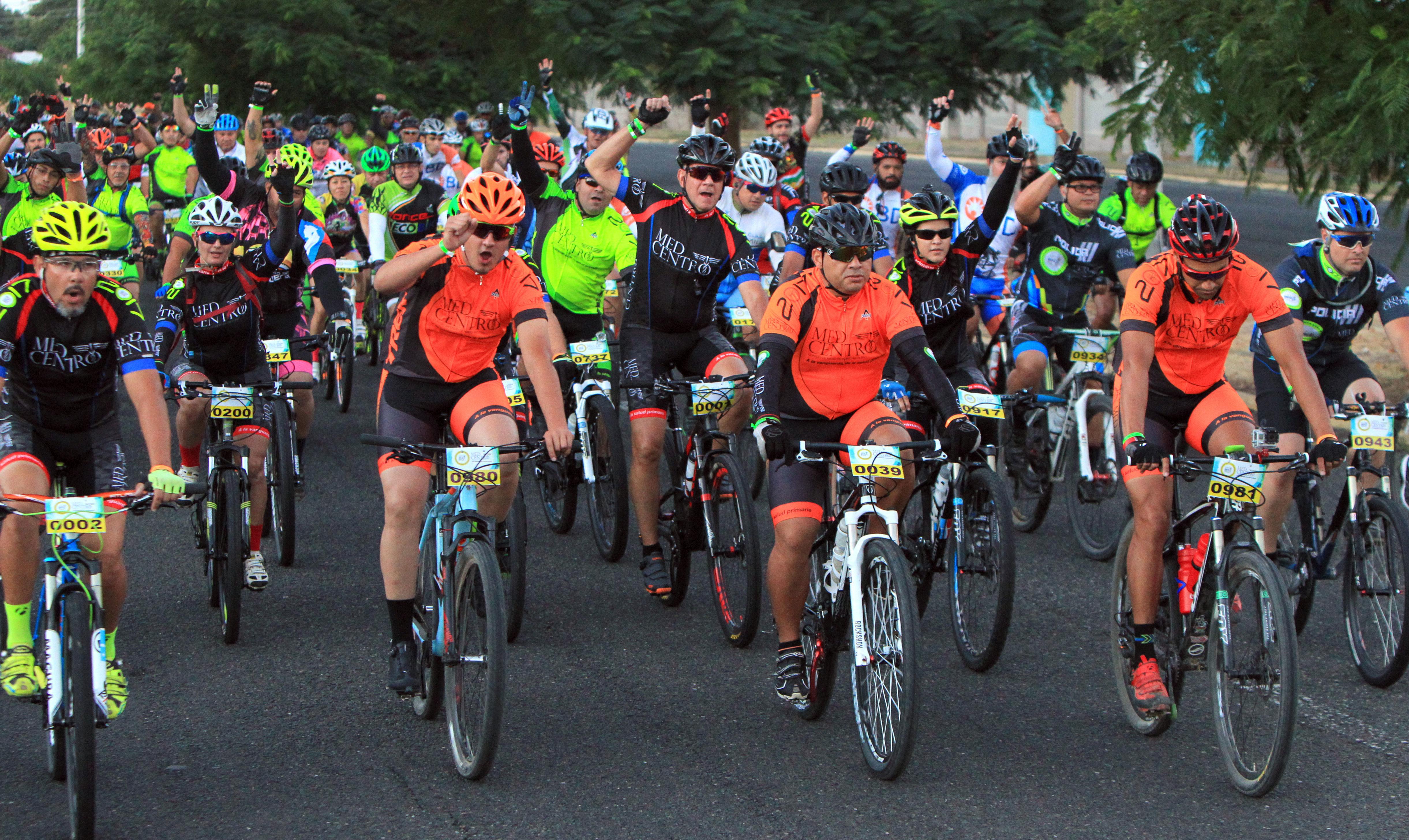 Miles de ciclistas han participado en el Med Bike Rally durante los pasados años.