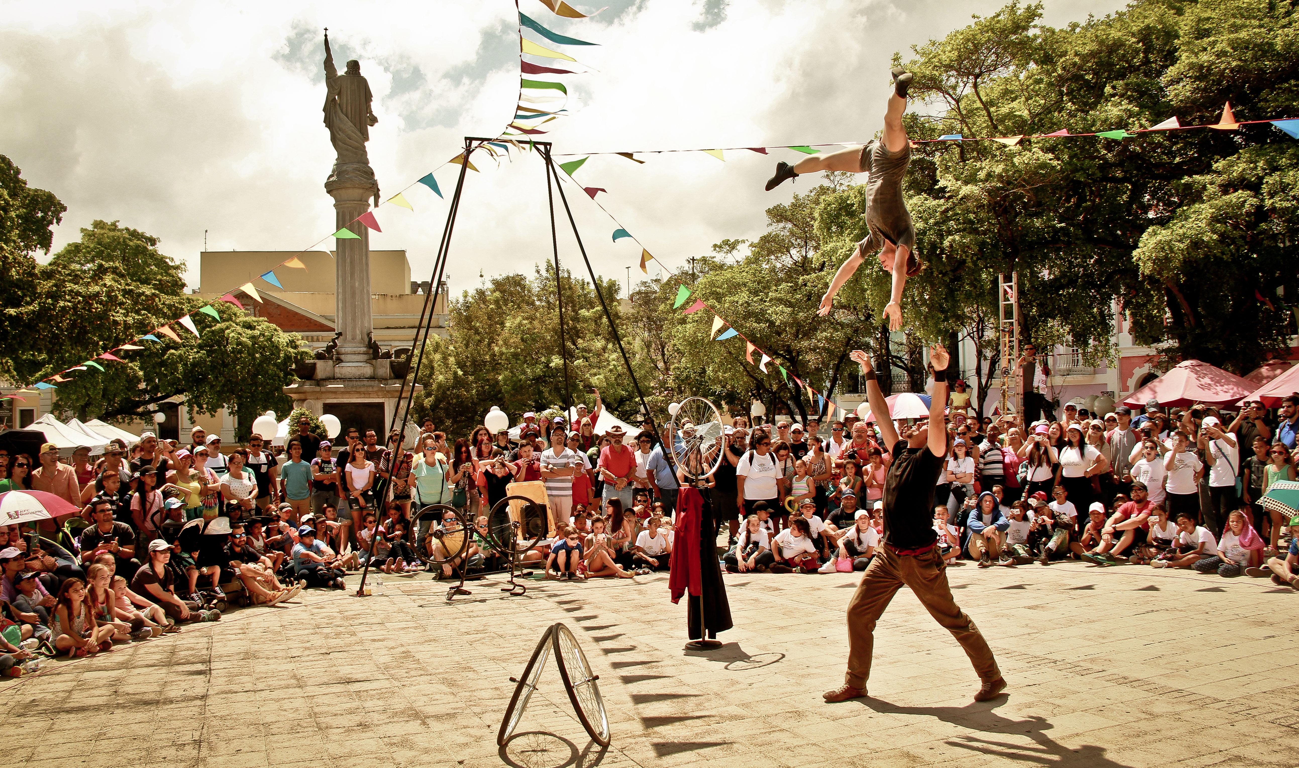 El Circo Fest contará con la participación de varias compañías internacionales.