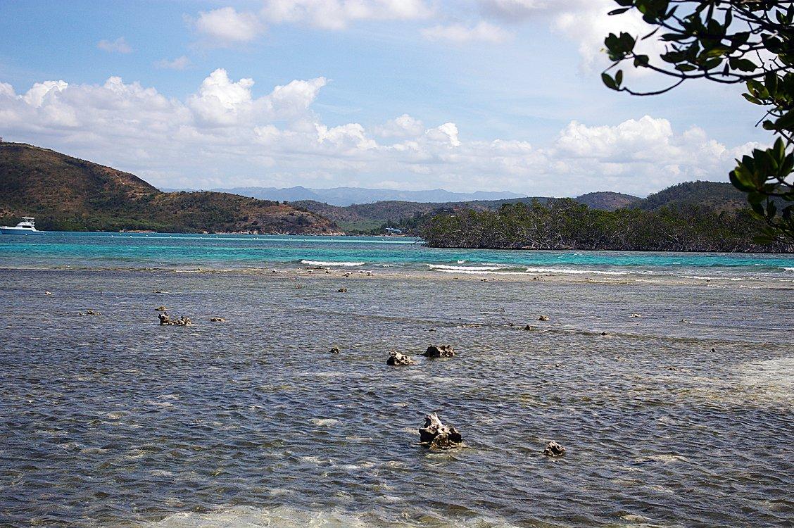 Isla Mata la Gata en la Reserva Natural La Parguera, en Lajas. (Facebook / Lajas Informa)