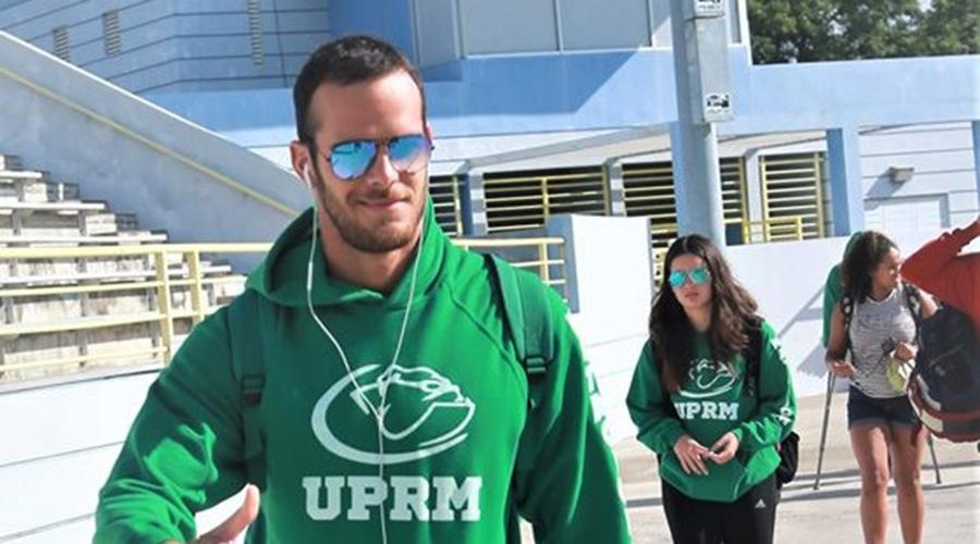 Alex Hernández, del RUM, competirá este año en sus cuartas Justas de la LAI. (Suministrada)
