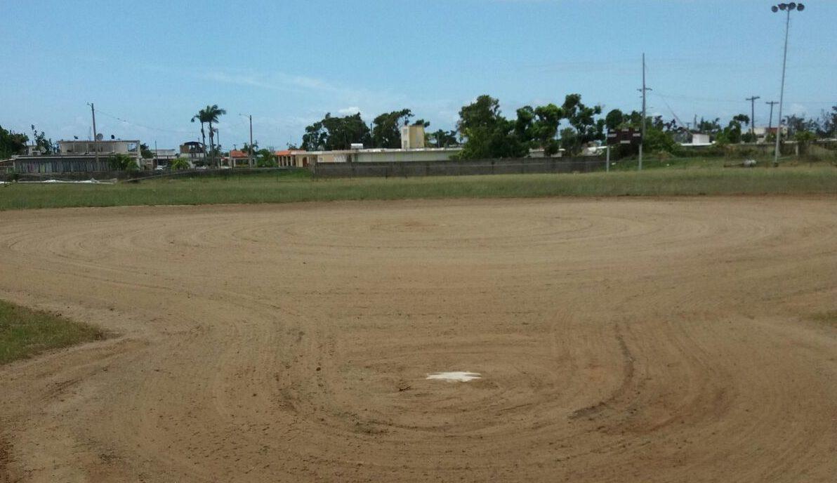 El terreno del parque ya fue condicionado.