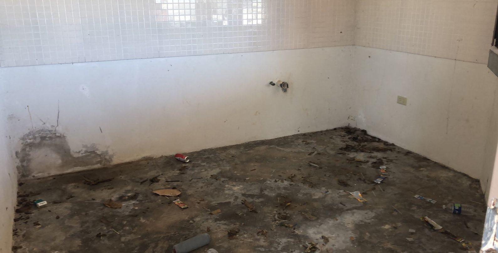 Jornadas de Obras Públicas Municipal remodelarán los baños y la cantina.