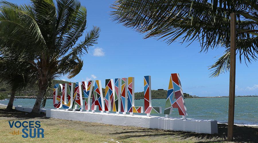 Las letras de Guayanilla fueron hechas por empleados municipales. (Voces del Sur)