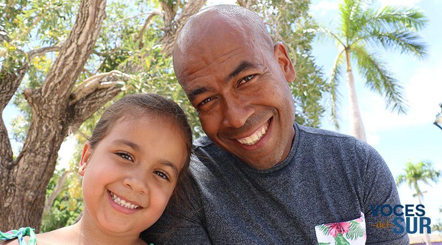 Emiliana Nazario Ramos viajará a Rusia junto a su padre Fabián Nazario González. (Voces del Sur)