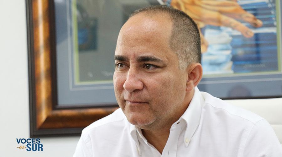 Santos Seda Nazario, alcalde de Guánica. (Voces del Sur)