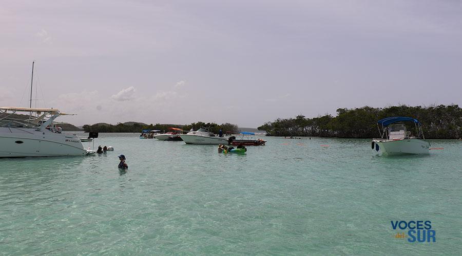 Cayo Caracoles en la costa de Lajas. (Voces del Sur)