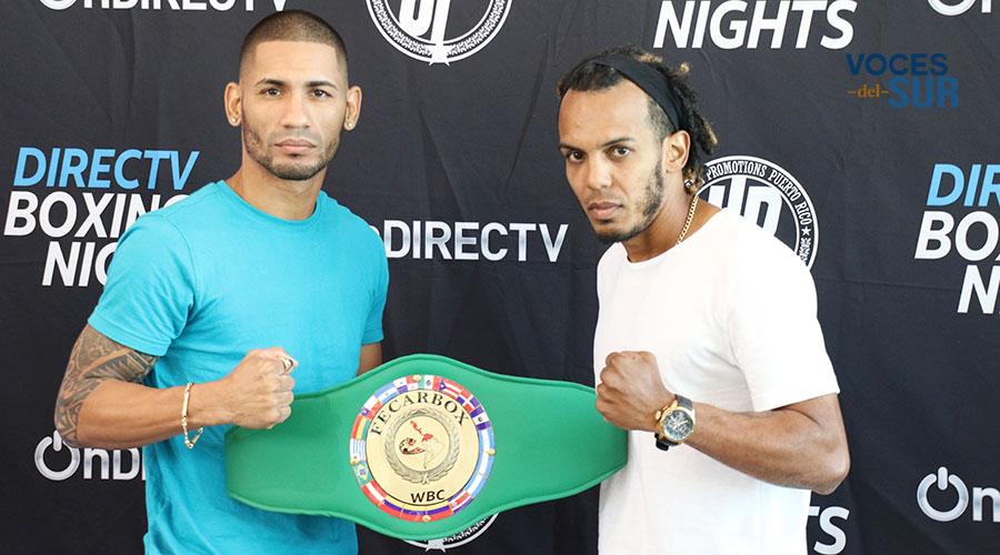 """Félix """"La Sombra"""" Caraballo defenderá el título Fecarbox del Consejo Mundial de Boxeo (CMB) en las 126 libras ante el experimentado José """"Miau"""" Nieves. (Voces del Sur)"""
