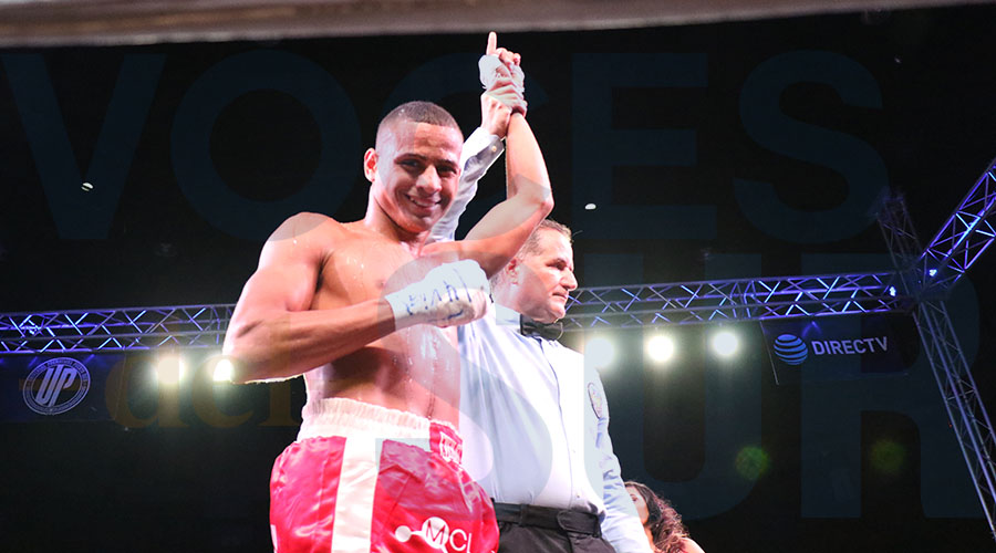 Kelvin Floyd Bahamundi se alzó con la victoria.