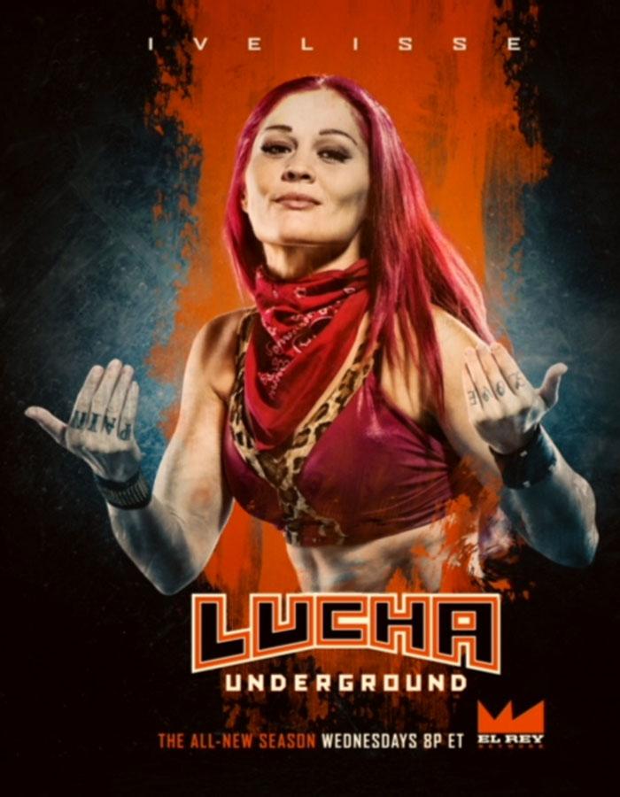 "Ivelisse ""Sicaria"" Vélez está activa en Lucha Underground. (Suministrada)"