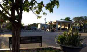 Plaza pública Fernando Pachecho y Matos de Yauco.