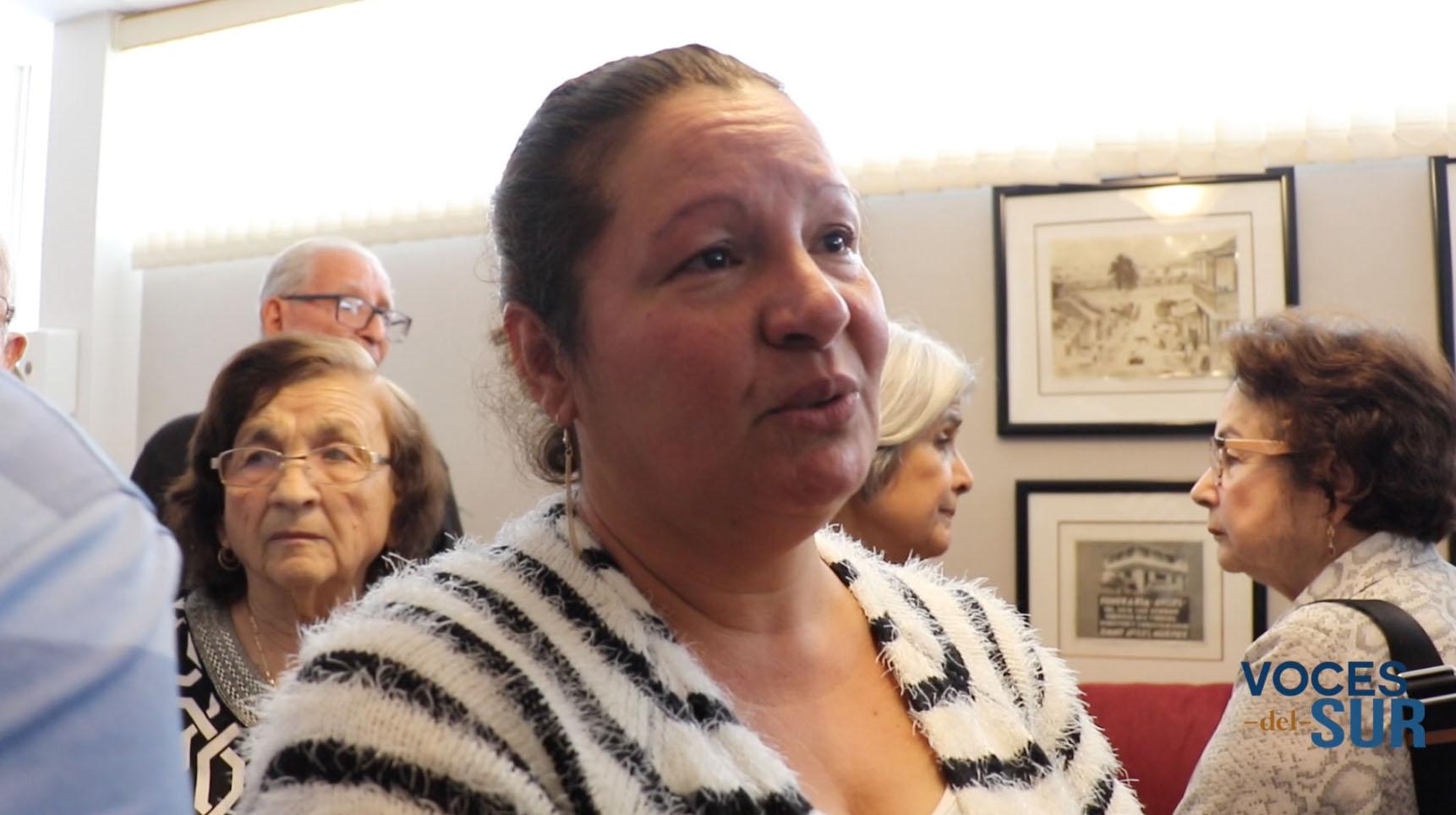 Zaida Ojeda Pérez, madre de Valerie Ann Almodóvar Ojeda. (Voces del Sur / Michelle Estrada Torres)
