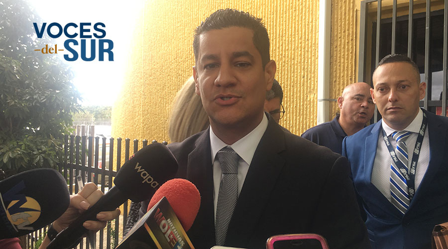Ildefonso Torres Rodríguez, fiscal de Ponce. (Voces del Sur / Michelle Estrada Torres)