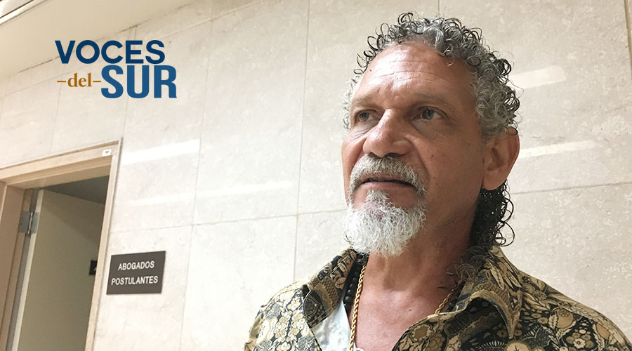 """Luis """"Tato"""" González Almodóvar, artista plástico. (Voces del Sur / Michelle Estrada Torres)"""