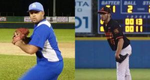 Los derechos Carlos Gil Rodríguez y Joseph López Arroyo vestirán el uniforme jueyero en 2019.