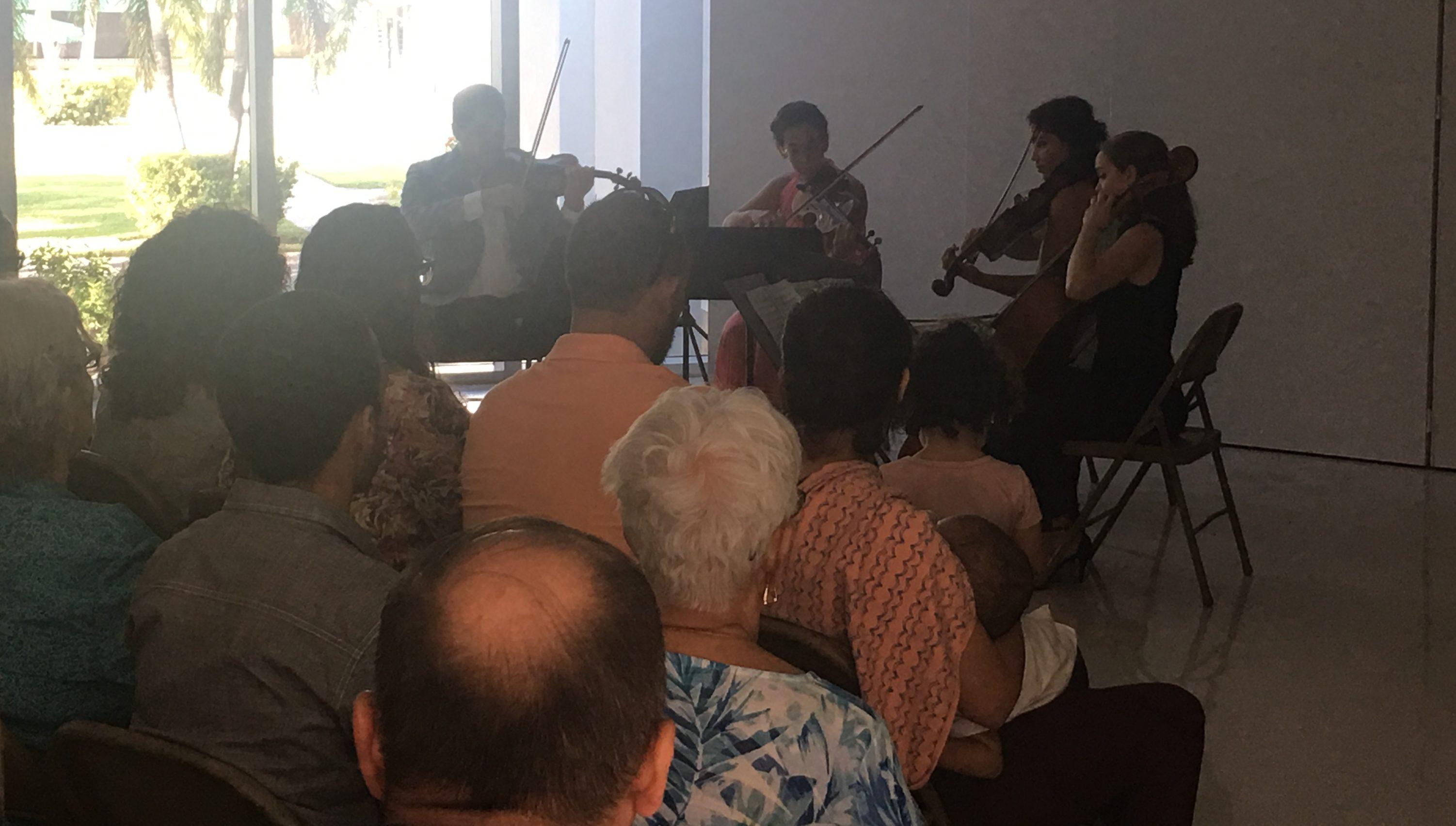 Presentación del Cuarteto Miramar.