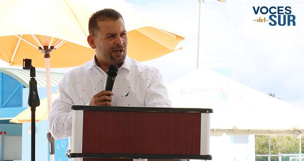 Eric Bachier Román, alcalde de Arroyo. (Voces del Sur/Pedro A. Menéndez Sanabria)