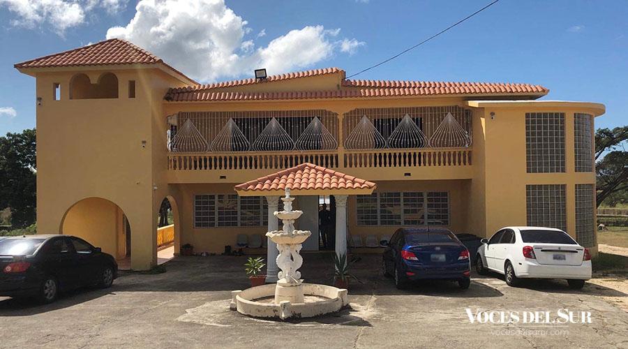 Vivienda Permanente de la Caridad de Cristo en el sector Vista Alegre del barrio Real Anón en Ponce.