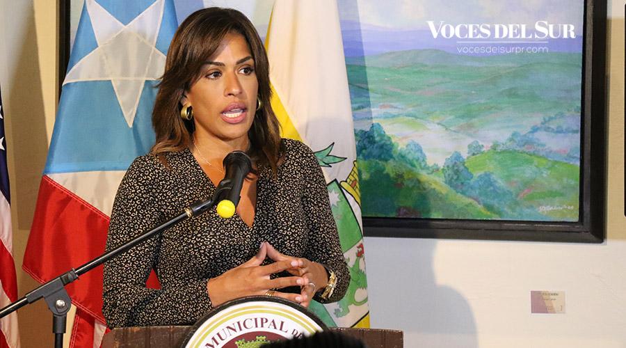 La Procuradora de las Mujeres, Lersy Boria Vizcarrondo.