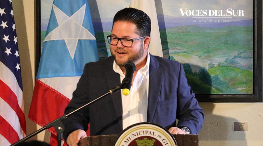 El alcalde de Guayanilla, Nelson Torres Yordán.