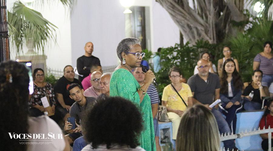 Ana Irma Rivera Lassén, integrante del Movimiento Victoria Ciudadana. (Voces del Sur / Pedro A. Menéndez Sanabria)