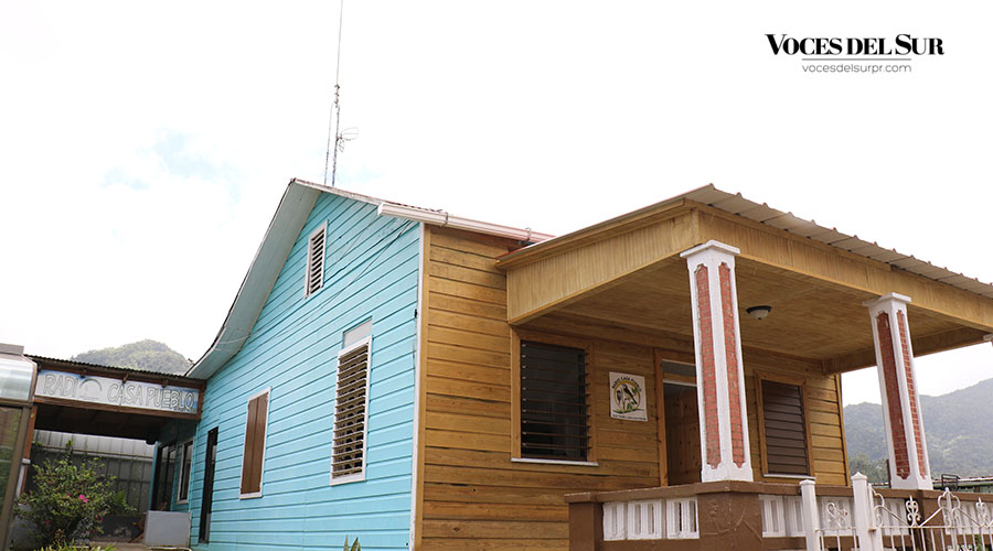 Radio Casa Pueblo es la primera emisora comunitaria y ecológica de Puerto Rico. (Voces del Sur / Michelle Estrada Torres)
