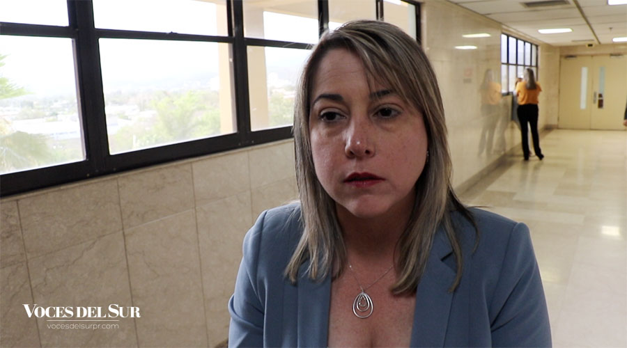 Marjorie Gierbolini, fiscal de distrito de Ponce. (Voces del Sur / Michelle Estrada Torres)