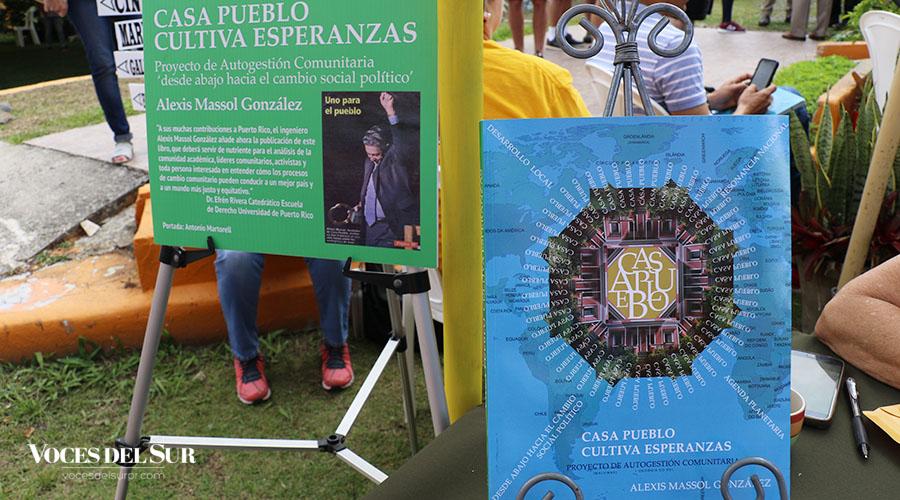 Alexis Massol González es autor del libro Casa Pueblo cultiva esperanzas. (Voces del Sur / Michelle Estrada Torres)