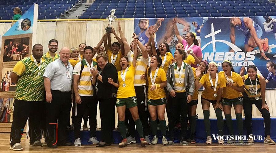 Las Tigresas de la Universidad Interamericana pasaron de campeonas a subcampeonas. (Voces del Sur / Revista J / Paola Cruz Rodríguez)