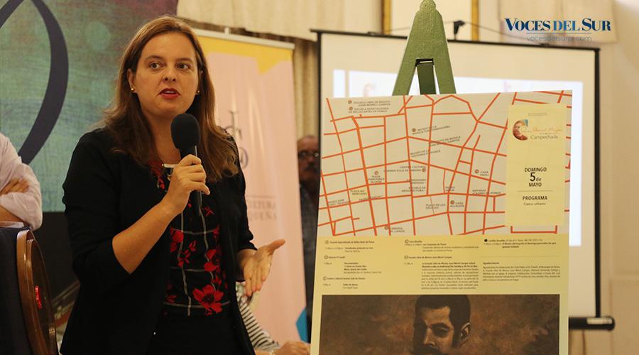 Mariana García Benítez, gerente general de la Campechada. (Voces del Sur / Michelle Estrada Torres)