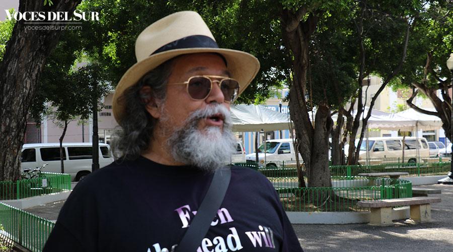 Humberto Figueroa, artista. (Voces del Sur / Pedro A. Menéndez Sanabria)