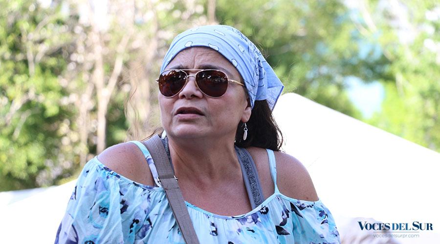 Carmen Ivette Altagracia Maldonado, artista plástica y maestra de Trujillo Alto. (Voces del Sur / Pedro A. Menéndez Sanabria)