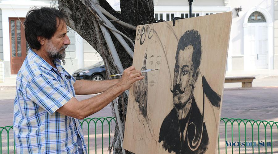 El villalbeño Jesús Ortiz Torres creó una pieza inspirada en la danza No me toques de Juan Morel Campos. (Voces del Sur / Pedro A. Menéndez Sanabria)