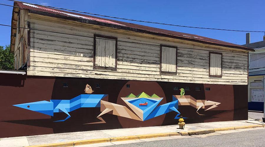 Mural de Spear Torres. (Facebook / Spear Torres)