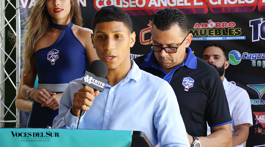 """Edwin """"Chin"""" Valentín volverá a pelear en su natal Salinas. (Voces del Sur / Pedro A. Menéndez Sanabria)"""