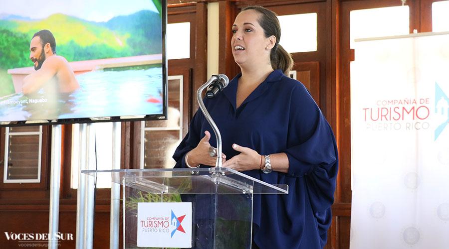 Carla Campos Vidal, directora ejecutiva de la Compañía de Turismo de Puerto Rico.