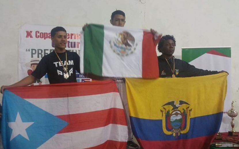 El boxeador salinense Jan Paul Rivera Pizarro obtuvo la medalla de plata en la categoría juvenil de 56 kilogramos.