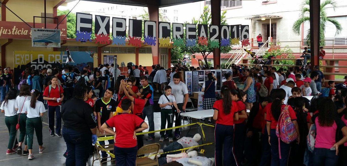 Durante los pasados años, la escuela sureña recibió la visita de cientos de personas como parte del evento. Se espera que este año no sea la excepción.