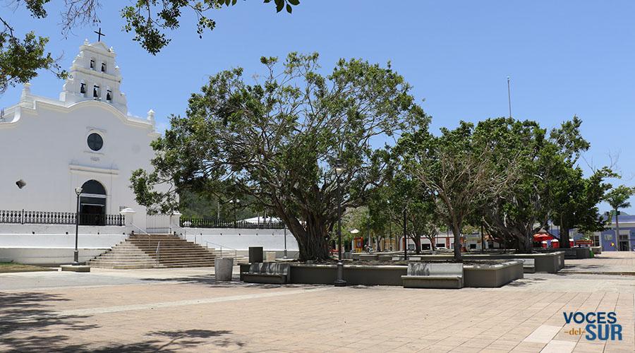 Plaza pública de Coamo. (Voces del Sur)