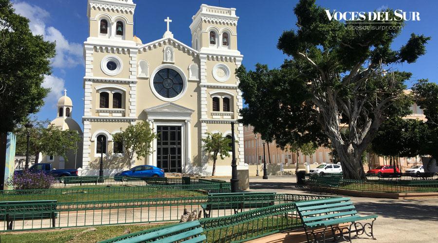 Plaza pública de Guayama. (Voces del Sur)
