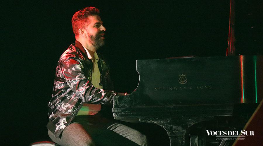 El pianista Adlan Cruz.