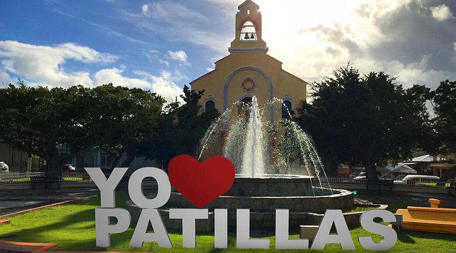 Plaza de Patillas. (Facebook / Municipio de Patillas)