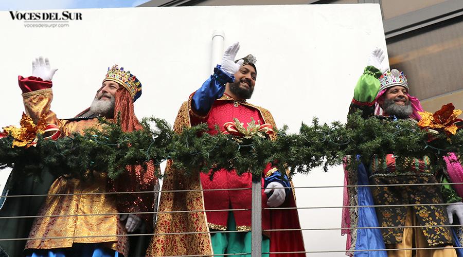 Reyes Magos de Juana Díaz. (Voces del Sur / Pedro A. Menéndez Sanabria)